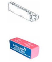 Prior Art--Top Nailco Buffer, Bottom Falley Buffer Block